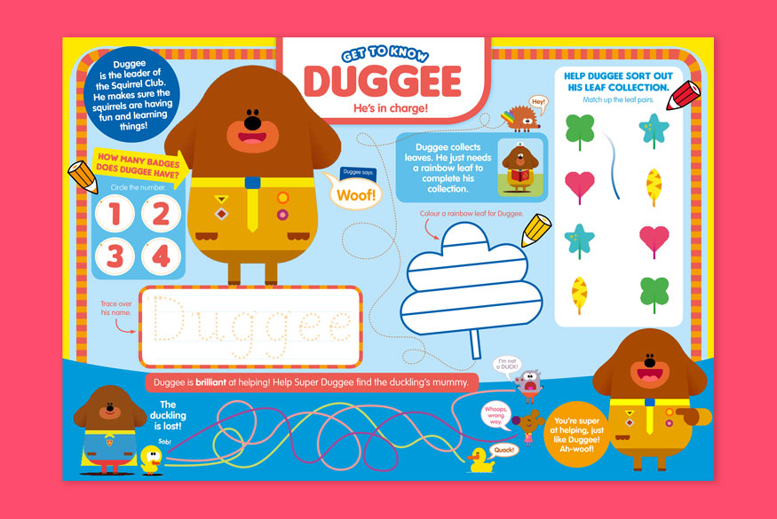 Activity of the month: Hey Duggee - 3-5 years  image
