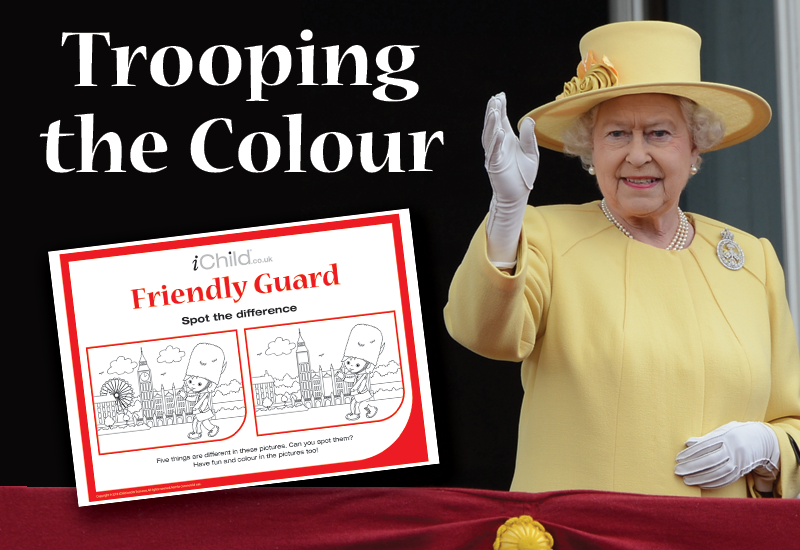 Trooping the Colour (vs 2, 28th May)