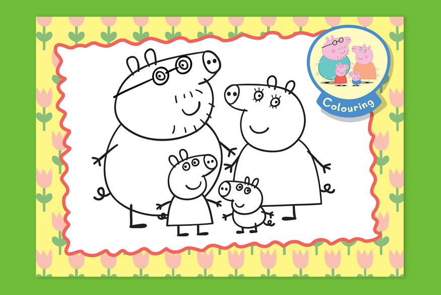 Activity of the Month: Peppa Pig - 1-3 years  image
