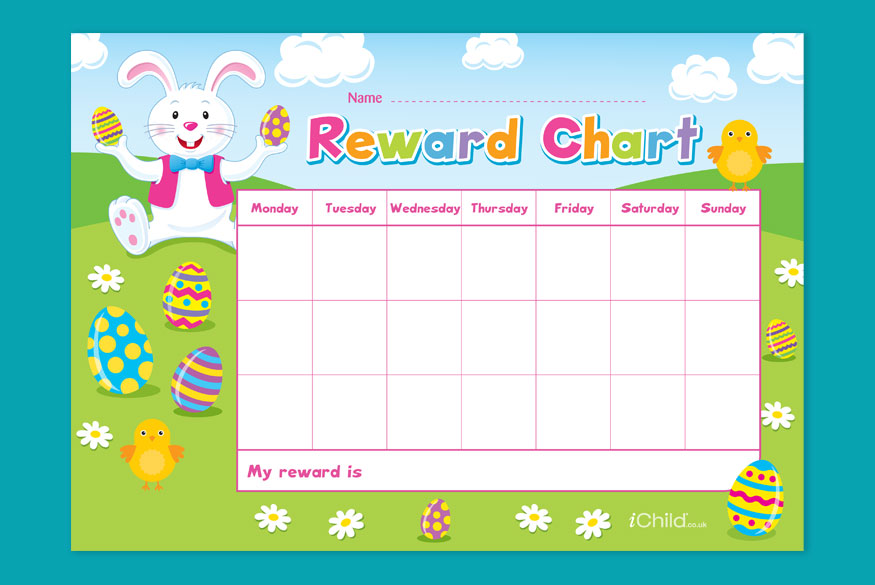 Activity of month: Easter Reward Chart - 5-7 years image
