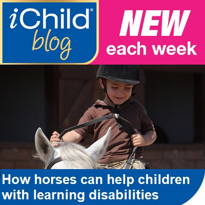 iChild Blog - this week's blog - how horses can help children with learning disabilities