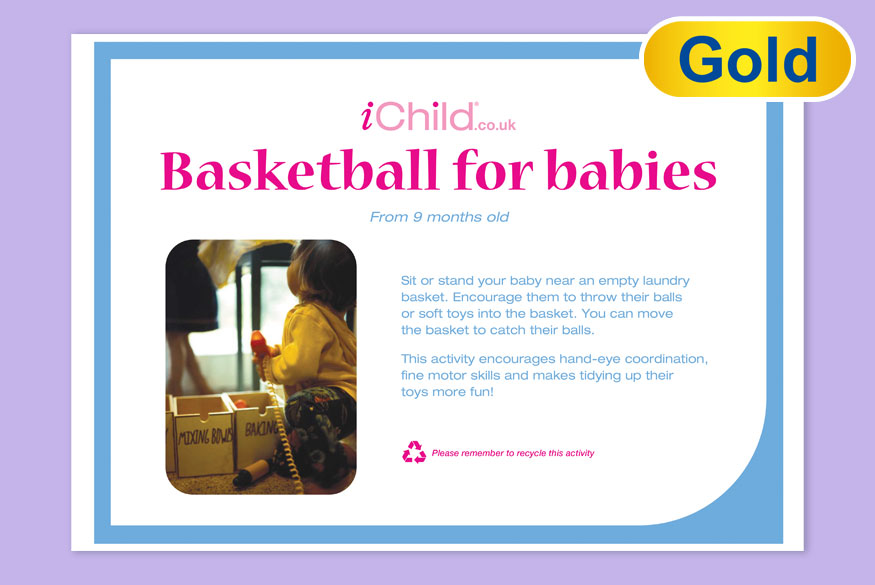 Activity of Month: Basketball for Babies image