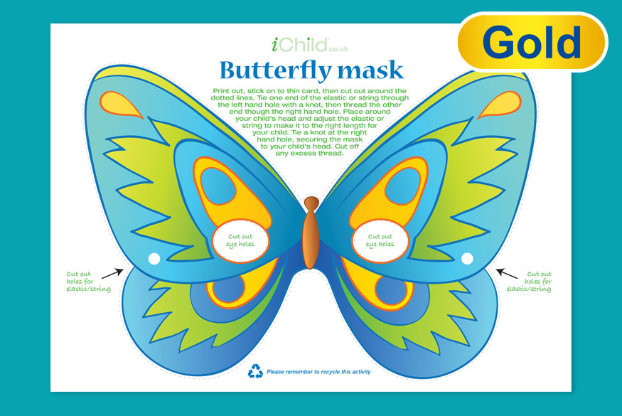 Activity of the Month: Butterfly Mask image